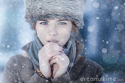 Snowy heroine