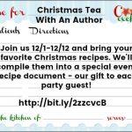 Christmas Tea with Author