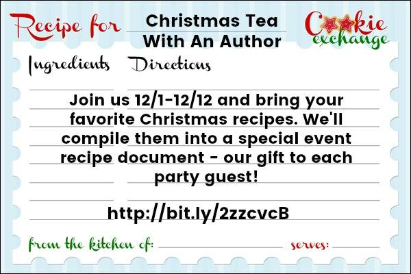 Christmas Tea with Author