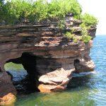 Bayfield sandstone caves