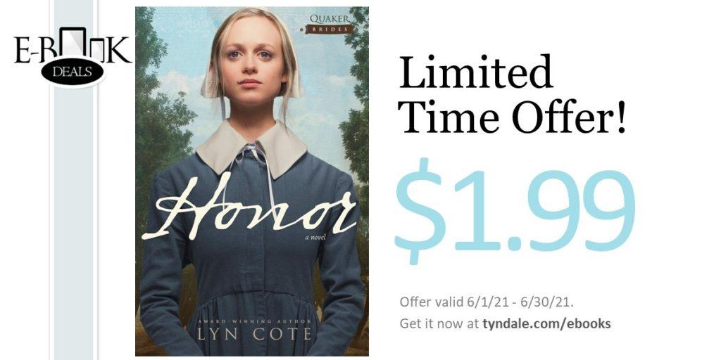 Honor - $1.99 June eBook Promotion